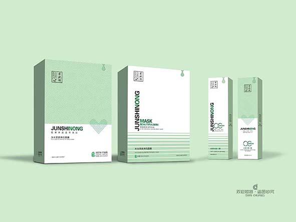 护肤化妆品包装盒设计
