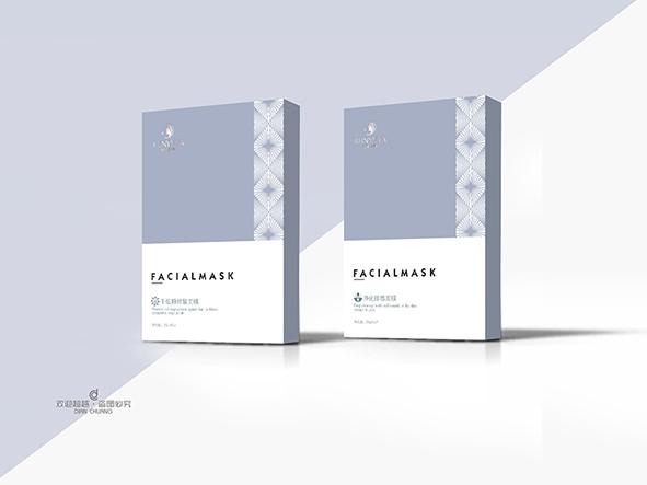 防晒护肤品包装盒设计