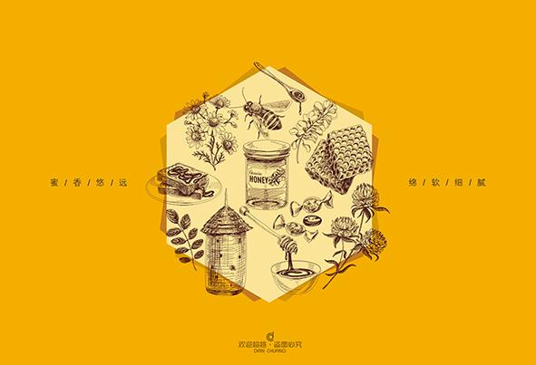 蜂蜜包装盒设计定制