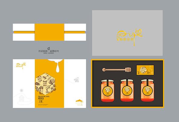 蜂蜜包装盒内部设计