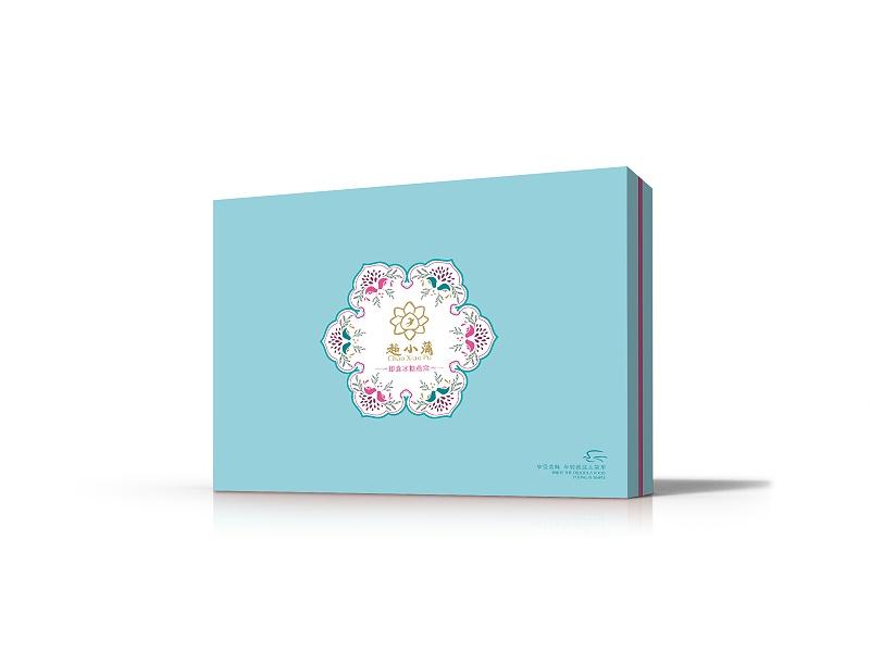包装礼品盒定做是如何运用抽象图形
