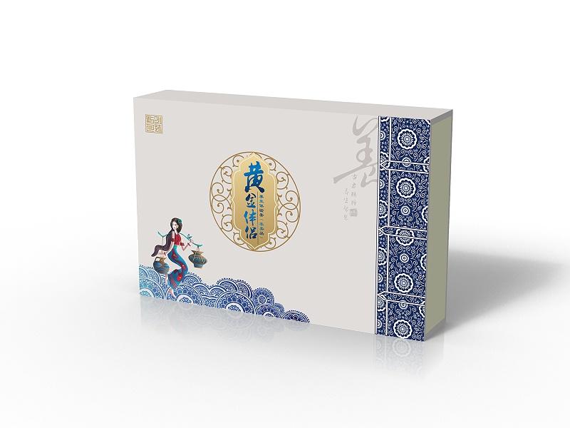 保健品包装盒设计图