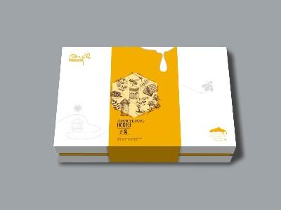 蜂蜜包装礼盒-蜂蜜包装盒设计定制--河南点创包装
