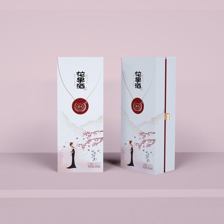高档果酒礼品盒定制