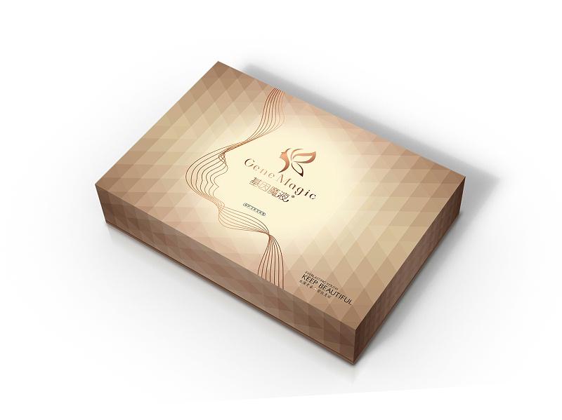 包装盒设计样板