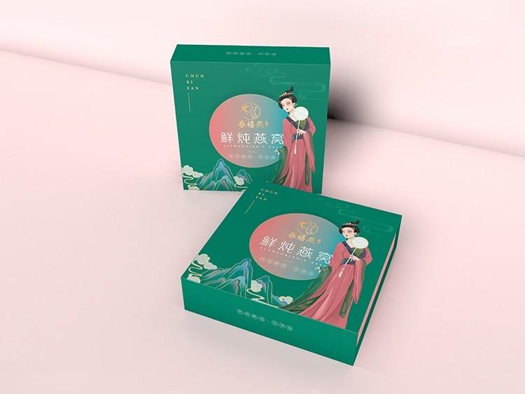 郑州礼品盒定制厂家告诉您如何选择燕窝礼盒