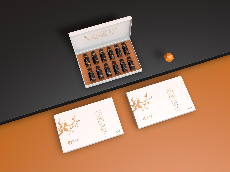 白酒包装盒设计案例分析: