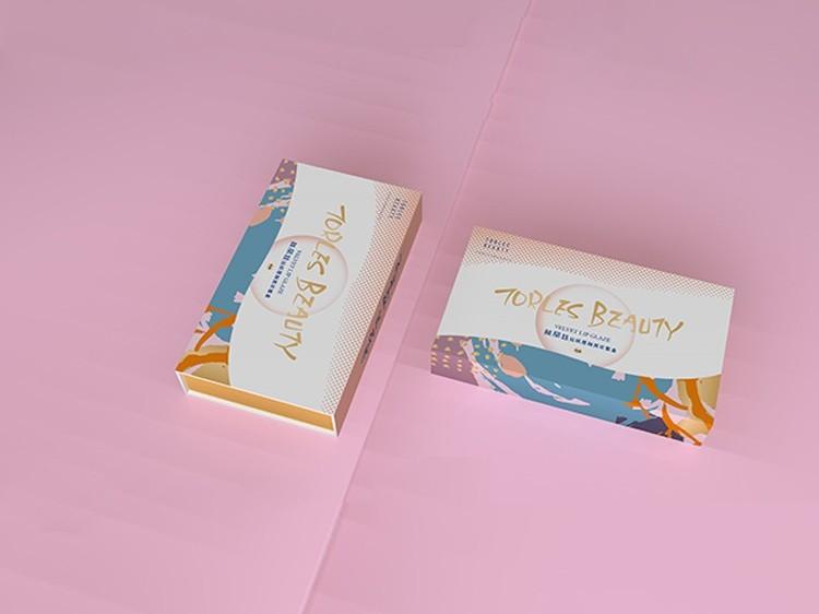 日化包装盒-化妆品美妆蛋彩盒定做-高端化妆品包装盒定做厂家