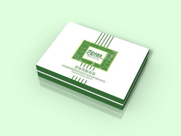 品牌标识--化妆品套盒设计