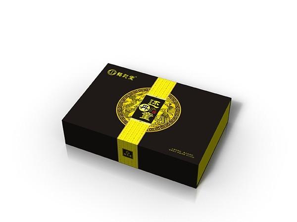 点创包装为鹤颐堂设计定做保健品包装盒