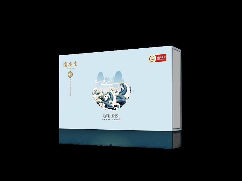 泡浴粉包装盒