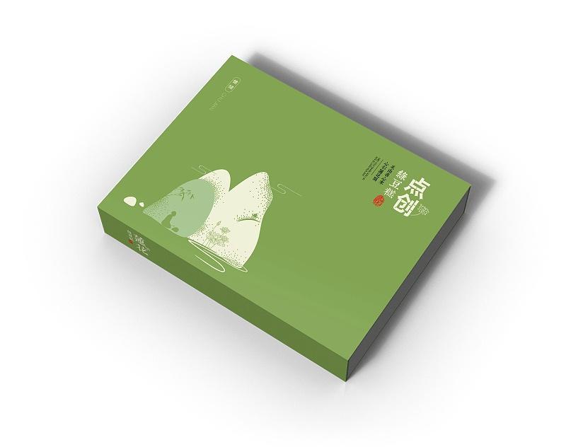 包装盒设计定制-绿豆糕
