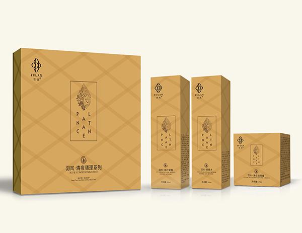 羽岚清痘调理系列--套盒和三个小盒子