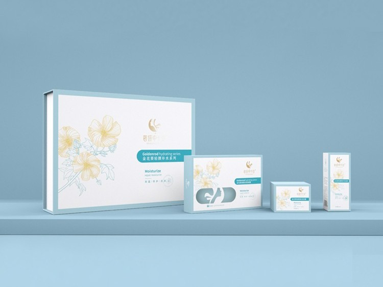 化妆品彩盒-化妆品包装盒定制厂家-郑州点创包装盒定做厂家