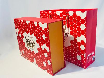 高档蜂蜜包装盒定做,精品礼盒定制厂家