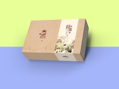 蜂蜜包装盒-蜂蜜包装盒定制厂家---河南点创包装