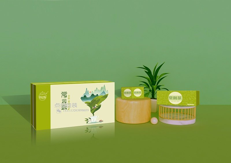 茶盒效果图