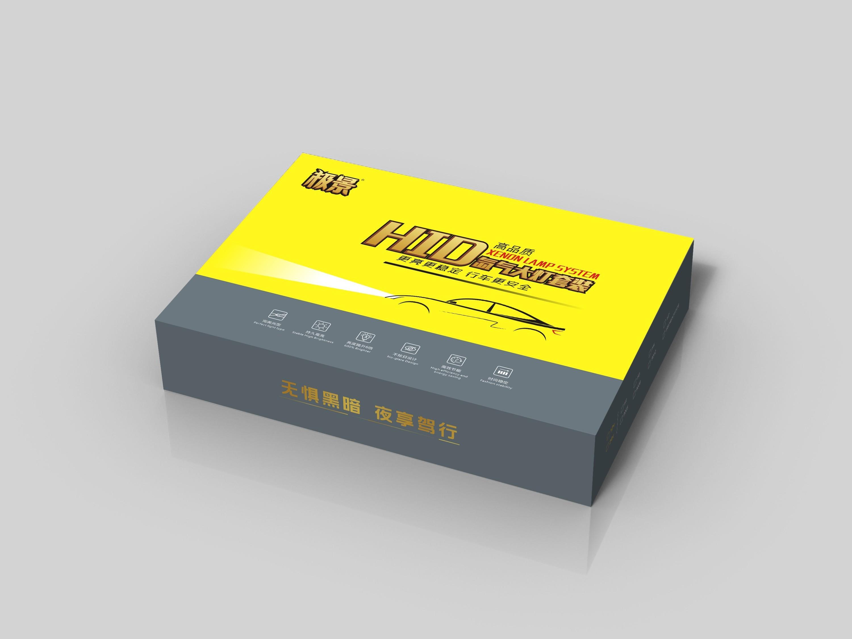 具有工业美感的车灯精品盒还可以这样设计: