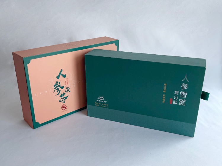 人参茯苓精品盒定制-高端包装盒生产厂家