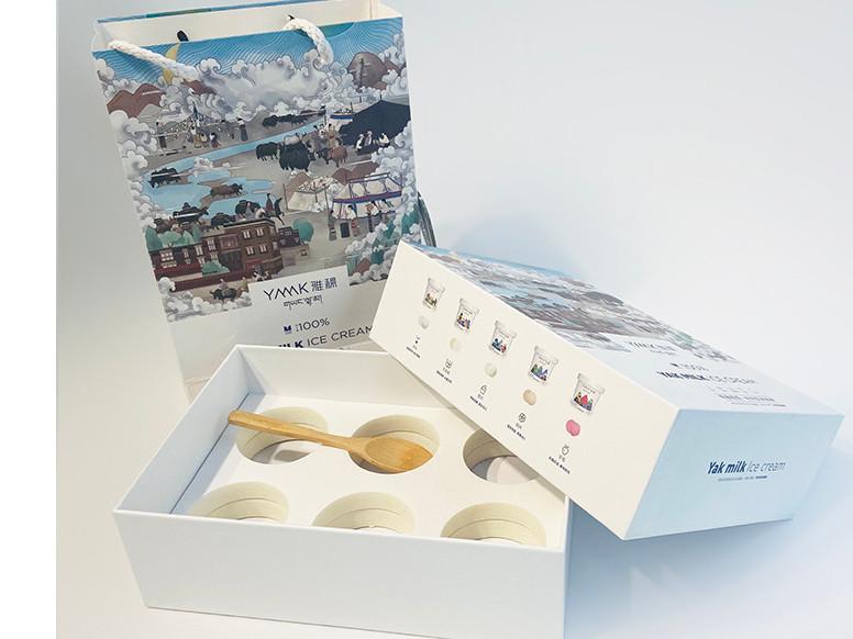 冰激凌包装盒-高档精品礼盒定制