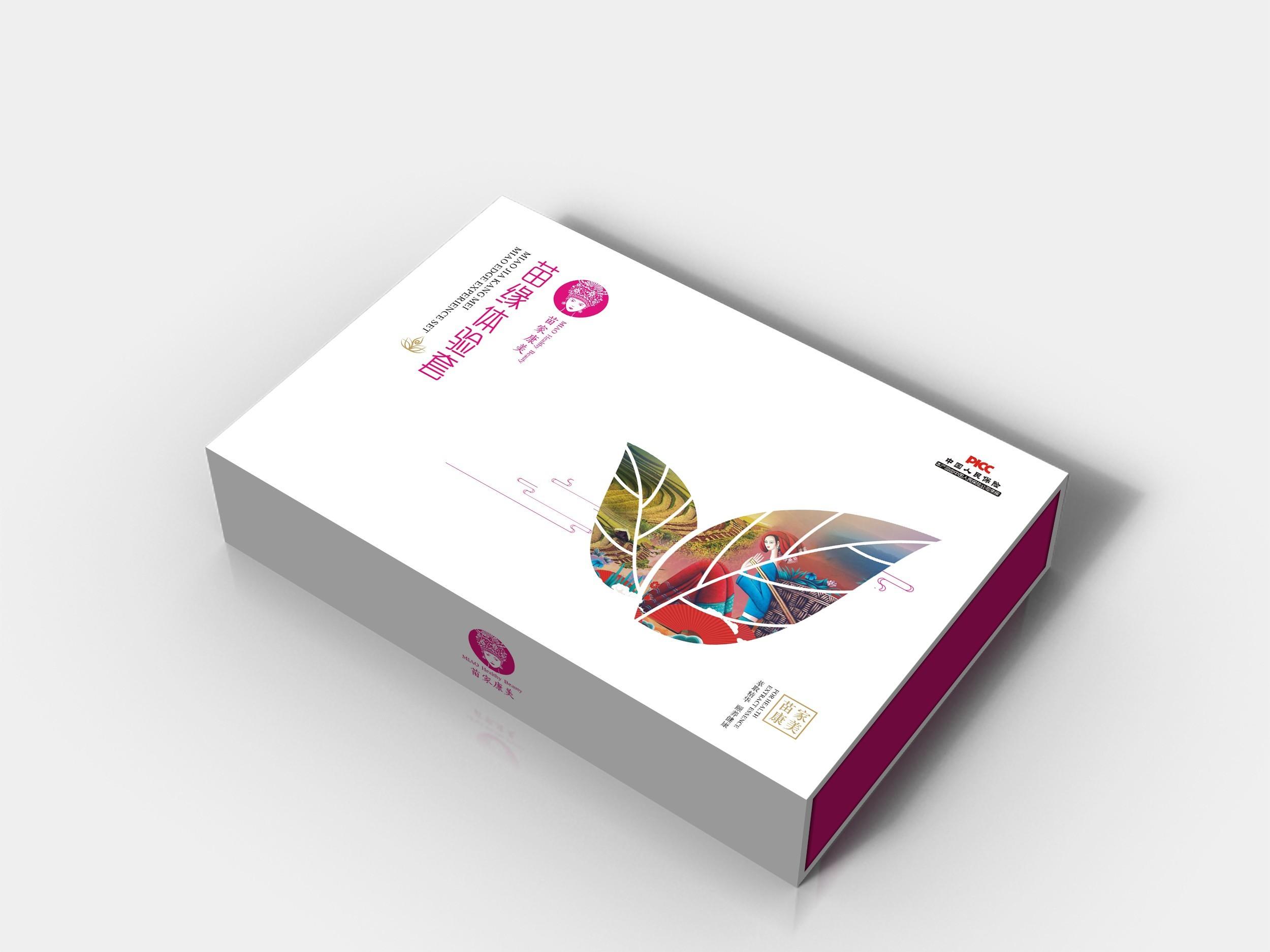 化妆品包装盒样式和颜色的设计元素选择