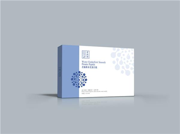 护肤品包装盒定制:君施秾水光蛋白肽