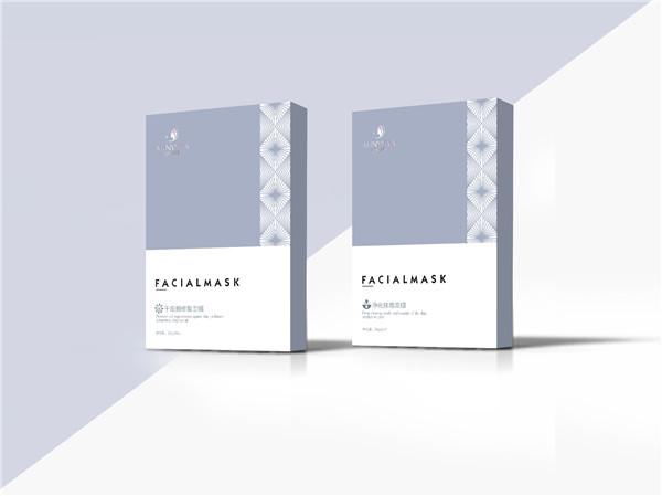 点创包装为奥妮薇娅提供化妆品包装盒定制排毒面膜盒
